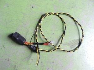 ヘッドユニットのデッキ配線リレー