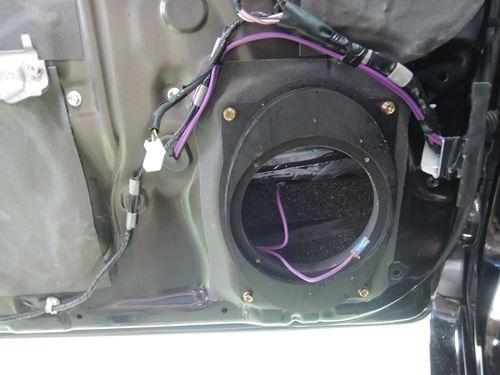 トヨタプリウス30系インナーバッフルスピーカー配線