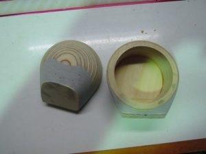 ブルームーンオーディオAX165ツィーターマウント作製