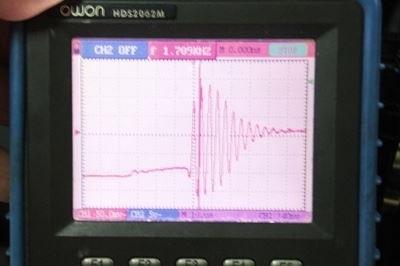 ワゴンR波形アースポイントの変化