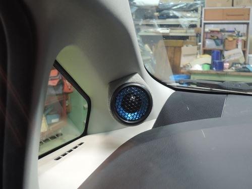 トヨタプリウス30系ツィーター取付