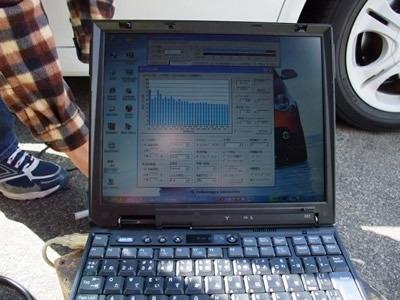 パソコン使ってF特を測る