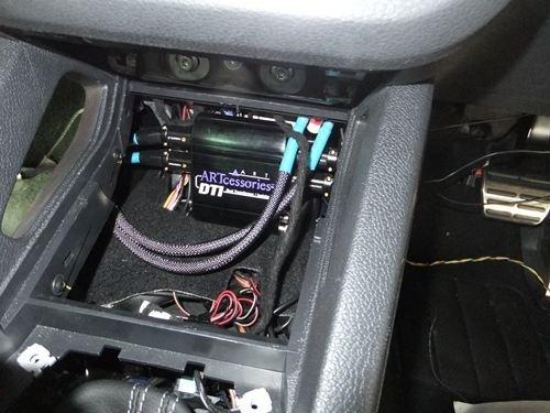 VWシロッコ RCAバランス変換