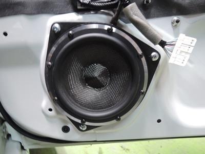 スバルBZR(86)ブラムスピーカー取付
